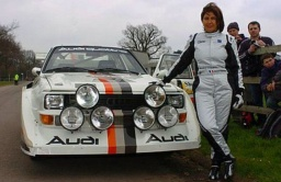 Audi S1 PikesPeak a Michéle Moutonová