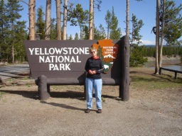 "<div><font size=""1"">Maminka jede do Yellowstonu!</font></div>