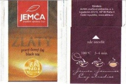 Jemča Exclusive Zlatý - black tea - producer Alima