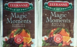 Teekanne- magic moments(two different teabags)