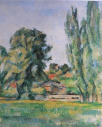 Landscape with poplars, 1885-1887