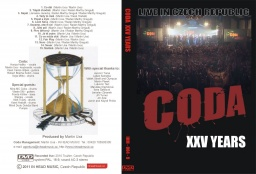 DVD CODA XXV YEARS.
