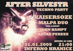 AFTER SILVESTR TECHNO PARTY