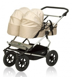 Carrycot Double in Chocolate