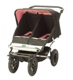 Urban Double Stroller in Coco