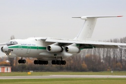 7T-WIU IL76TD Algerian Air Force