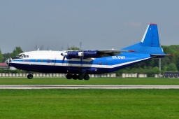 UR-DWF Antonov 12  MERIDIAN AVIATION