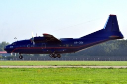UR-CGV Antonov AN-12B MERIDIAN AVIATION