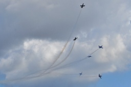 Breitling Jet Team aerobatic