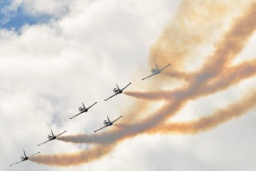 The Breitling  aerobatic display team