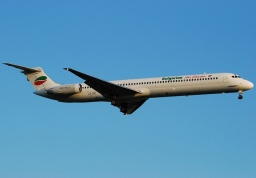 MD-82 BULGARIAN AIR CHARTER