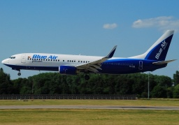 B737-8AS BLUE AIR