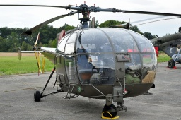 3E-KK  SA316B Alouette III  Austrian Air Force