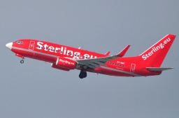 OY-MRF  B737  Sterling Airlines