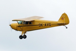 OK-AVG Piper J-4  Private