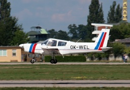 Zlín Z-43 OK-WEL (UCL - Civil Aviation Authority)