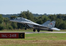 "Mikojan MiG-29UBS ""Fulcrum-B""  1303 (Slovak Air Force)"
