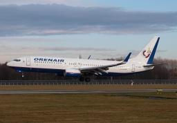 Boeing 737-800 VP-BEN (Orenburg Airlines)