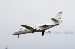 S5-BBG Cessna 550 Citation II  Private
