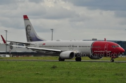 LN-DYN B737-8JP  Norwegian Air Shuttle