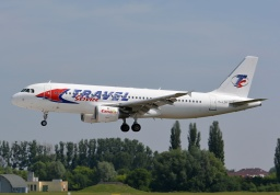 Airbus A320-211 YL-LCA (Travel Service)