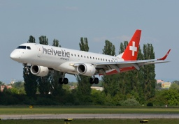 Embraer ERJ190-100LR HB-JVQ (Helvetic Airways)