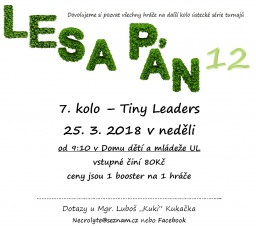 7. kolo LP12 Tiny Leaders 25. 3 neděle DDM.jpg