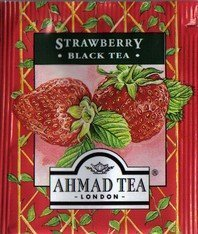 Ahmad - Strawberry black tea - foil(cutted)