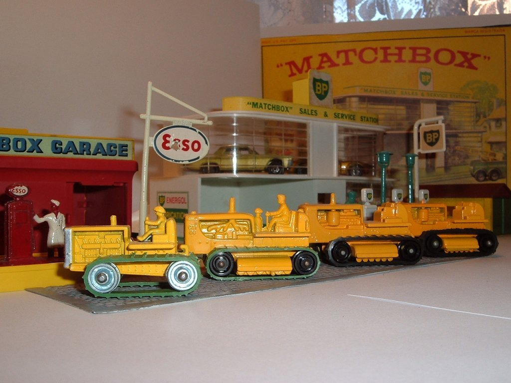 No 8 a,c,d,1.,d 2., Caterpillar Tractor, 1955, 1961, 1964