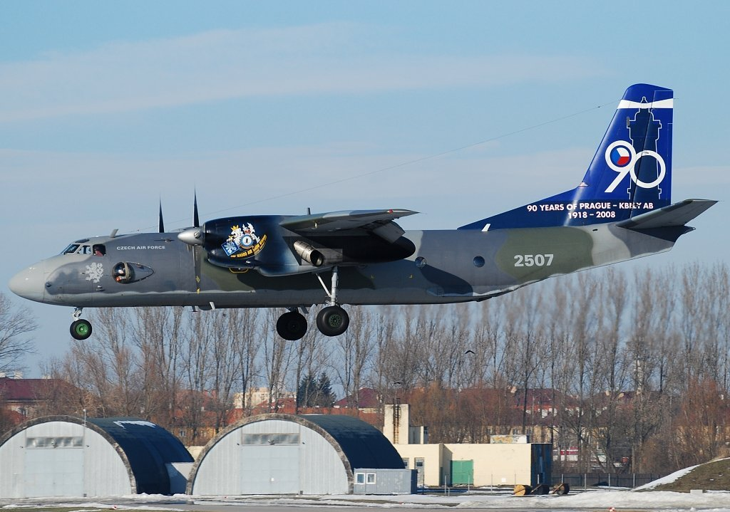AN-26 Czech - Air Force