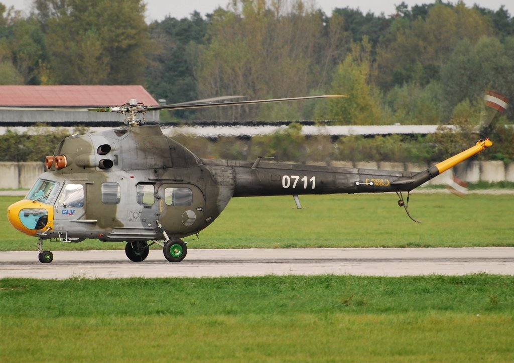 Mi-2 Czech Air Force