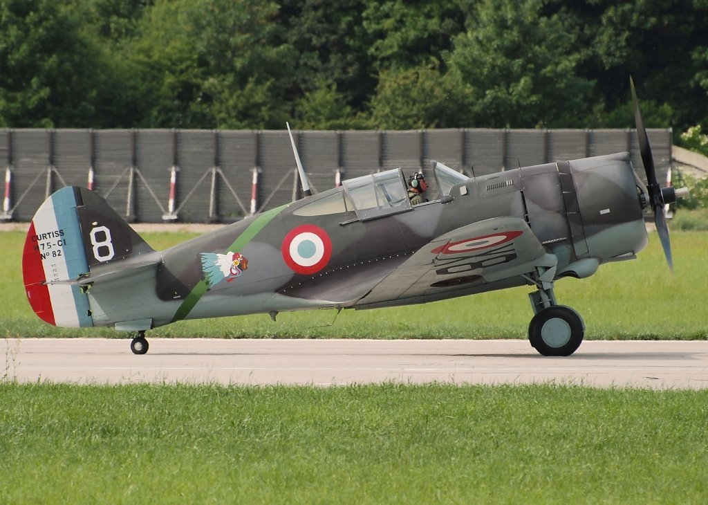 CURTISS HAWK 75A-1PATINA LTD