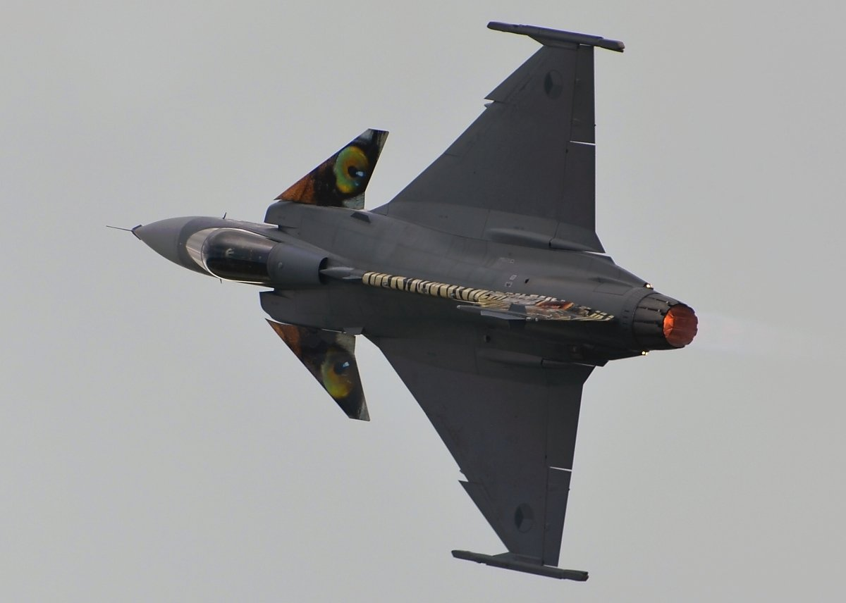 Saab 39C Gripen Czech Air Force ( CEF ) 9235