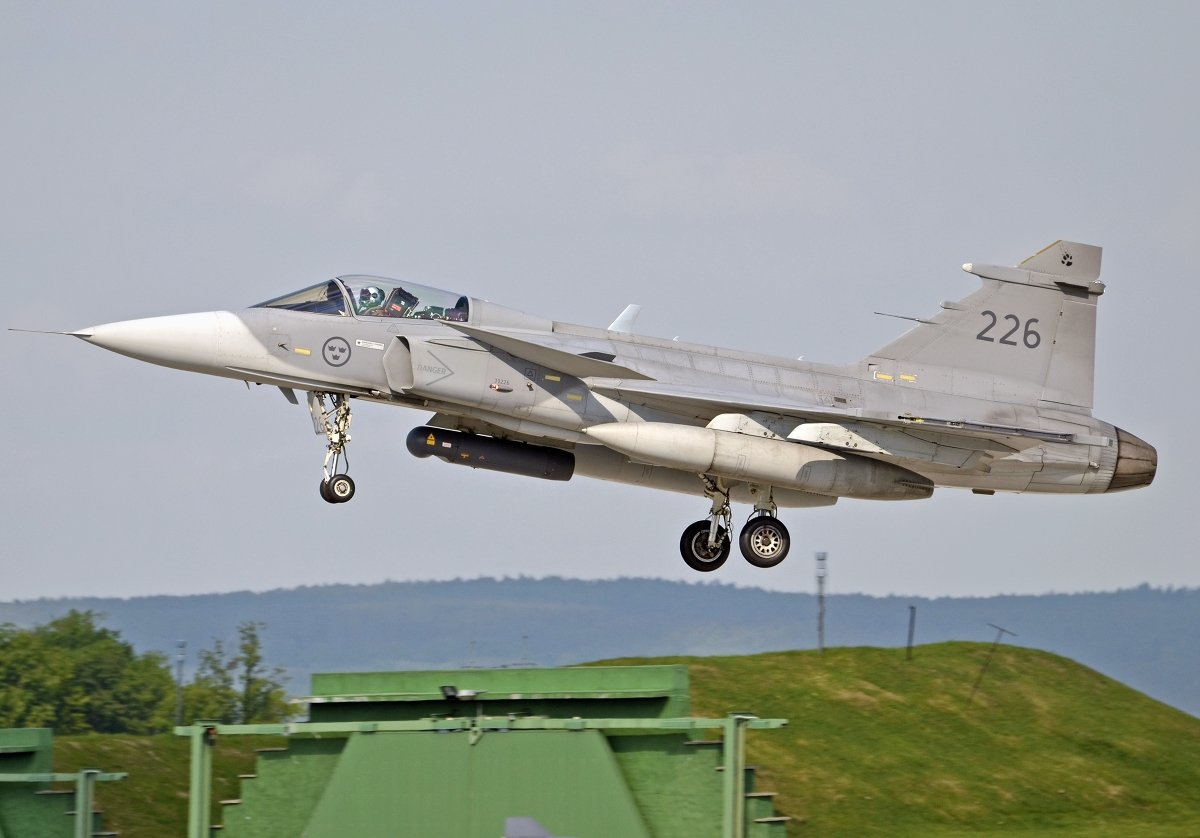 Saab 39C Gripen   Swedish Air Force     39226