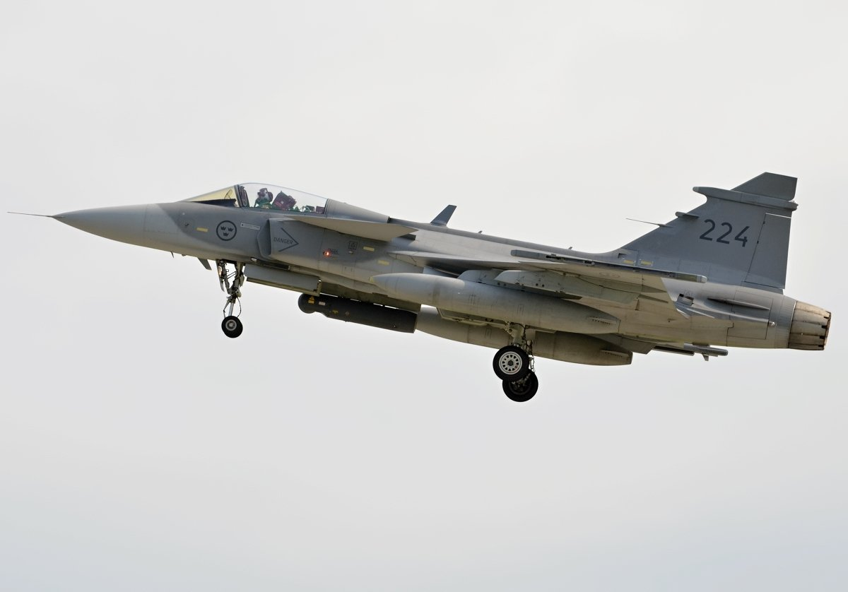 Saab 39C Gripen   Swedish Air Force     39224