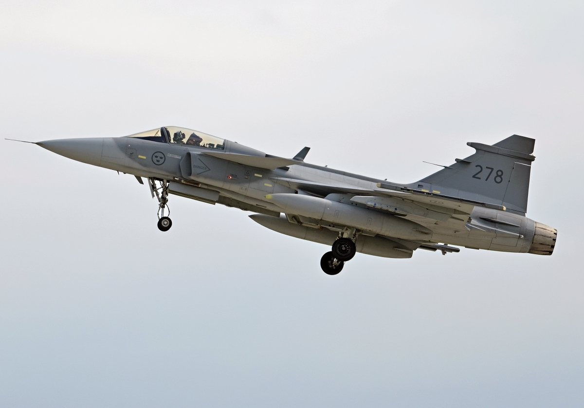 Saab 39C Gripen   Swedish Air Force     39278