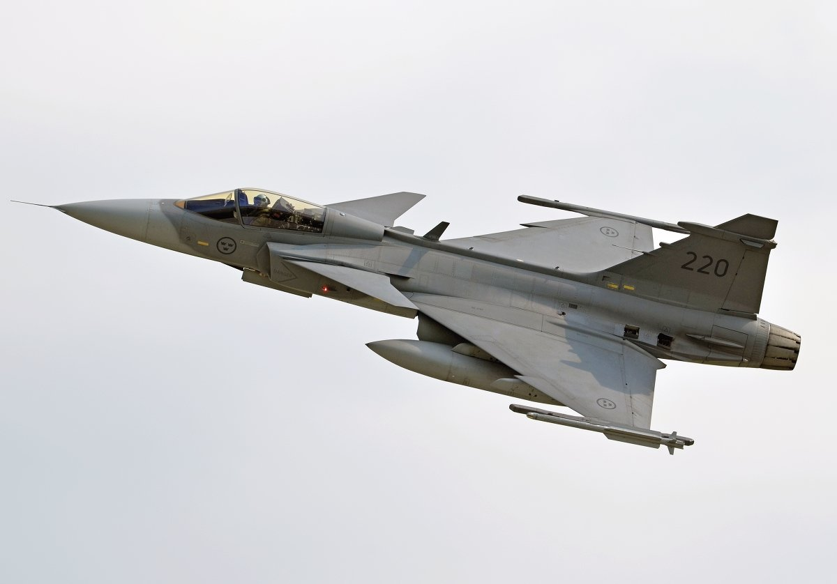 Saab 39C Gripen   Swedish Air Force     39220