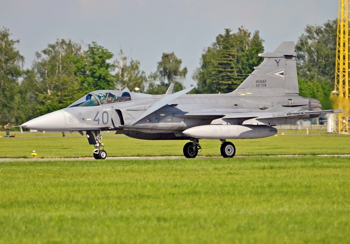Saab 39C Gripen   Hungarian Air Force   40