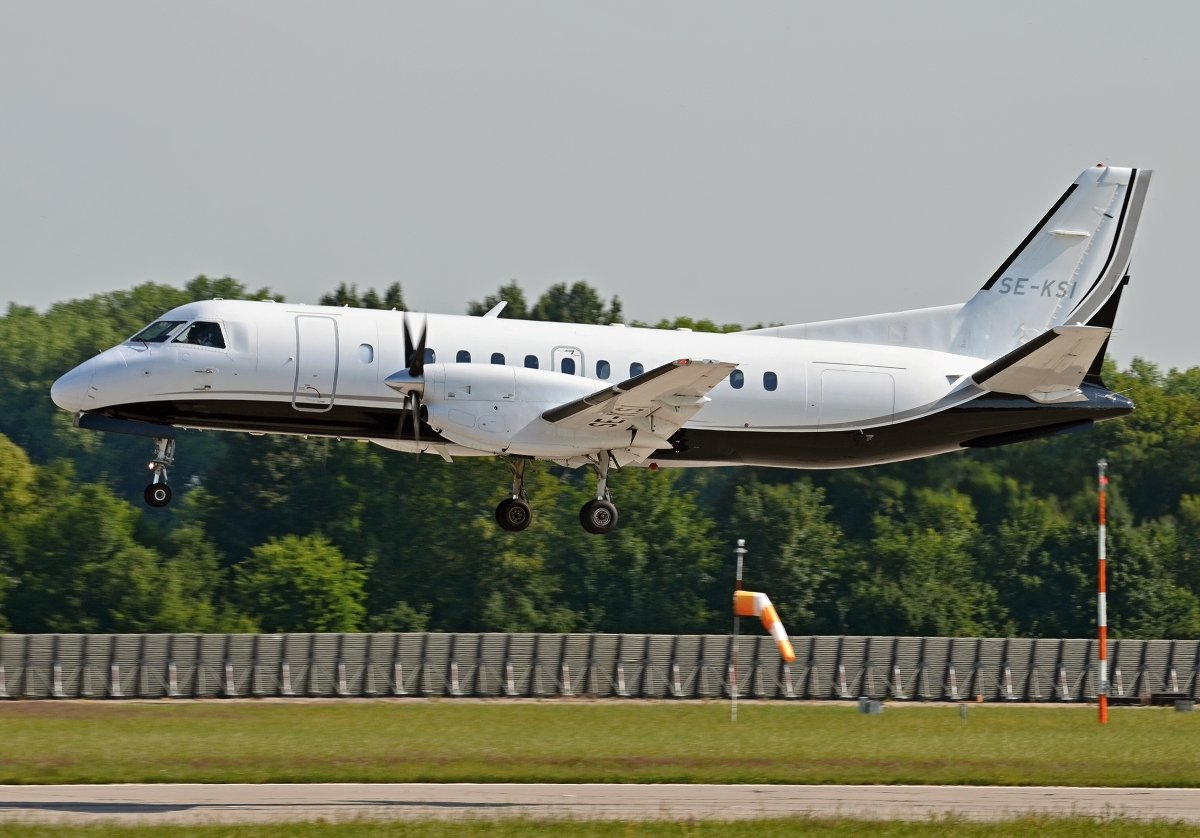 Saab 340B    Swedish Aircraft Holdings AB    SE-KSI