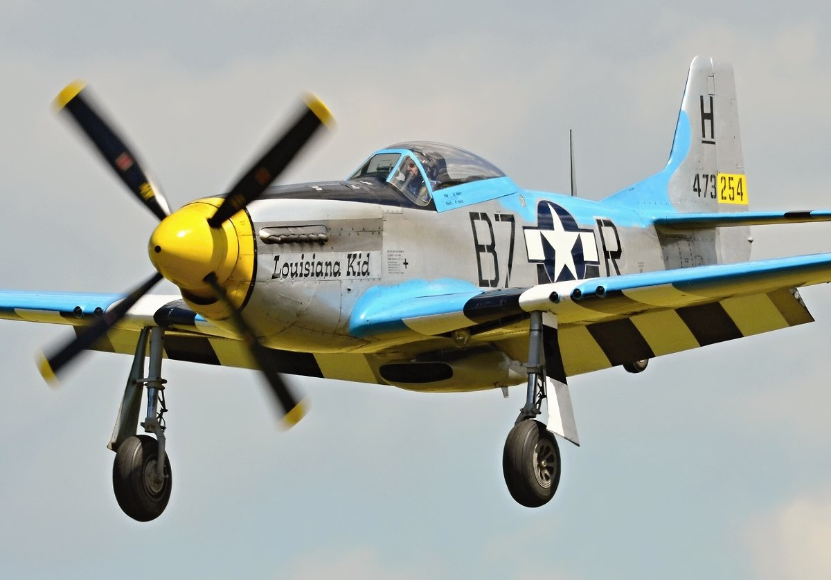 F-51 Mustang Private N6328T