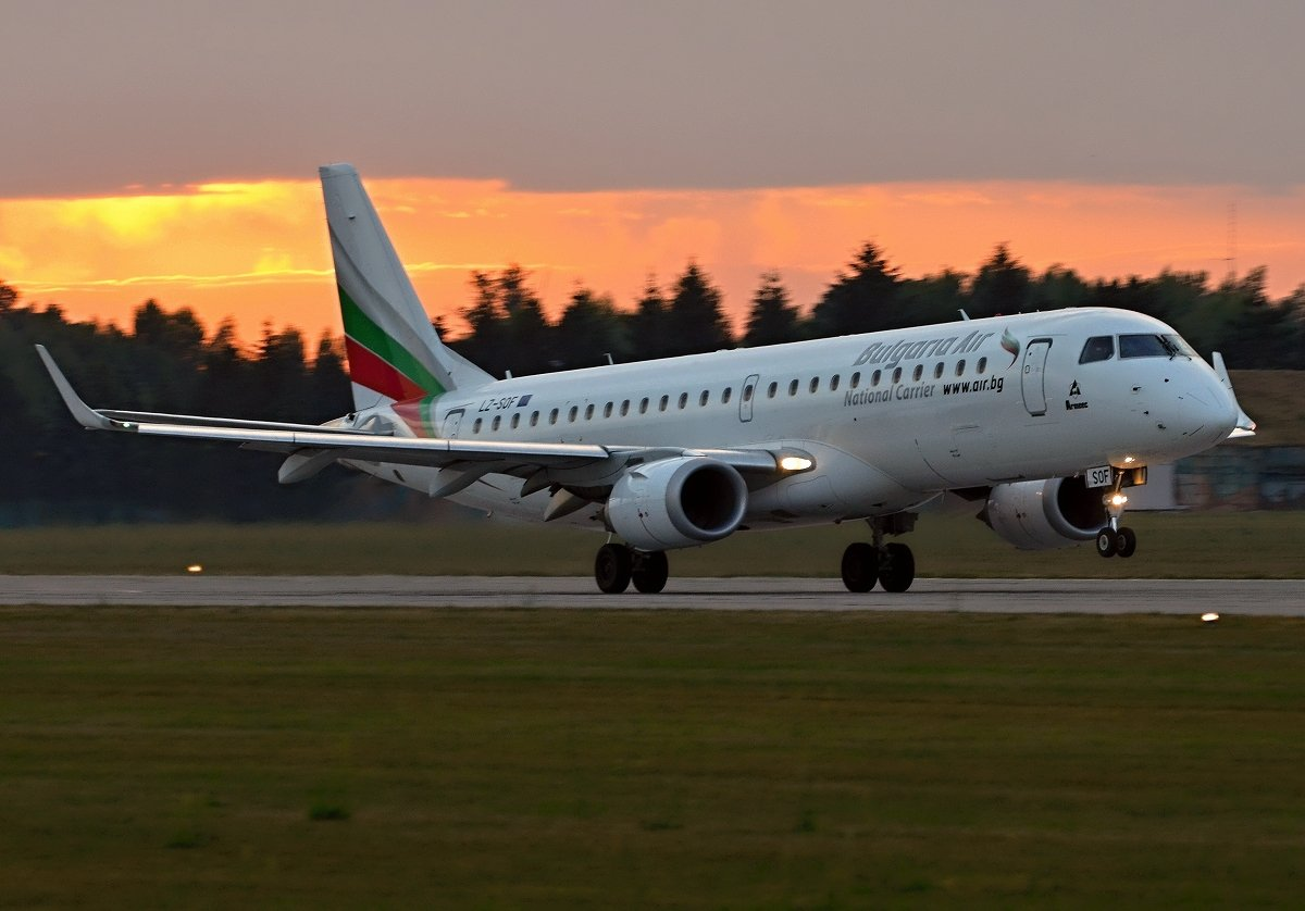 ERJ190-100IGW    Bulgaria Air    LZ-SOF