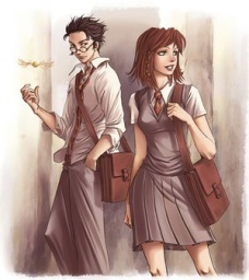 James Potter a Lilly Evans
