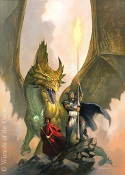 DRAGONLANCE, 22 X 30: OILS: 1999, ©WIZARDS OF THE COAST , http://www.toddlockwood.com