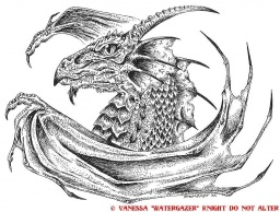 "Dragon Crest Seal, © Vanessa ""Watergazer"" Knight"
