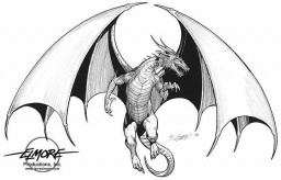 Dragon Graphic, ©Larry Elmore, http://www.larryelmore.com