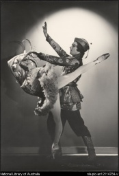 Valentina Blinova and Valentin Froman, Ballets Russes, 1938, in The firebird.jpg