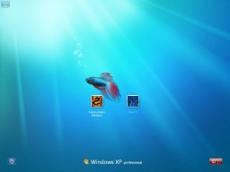Windows7fish for XP - obrázek