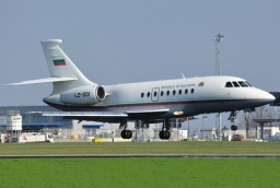 LZ-001  Falcon2000 Bulgaria Air Force