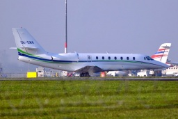OK-EMA  Cessna 680 Citation Travel Service