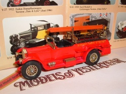 No Y 6 d, 1920, Rolls Royce Fire Engine, 1977